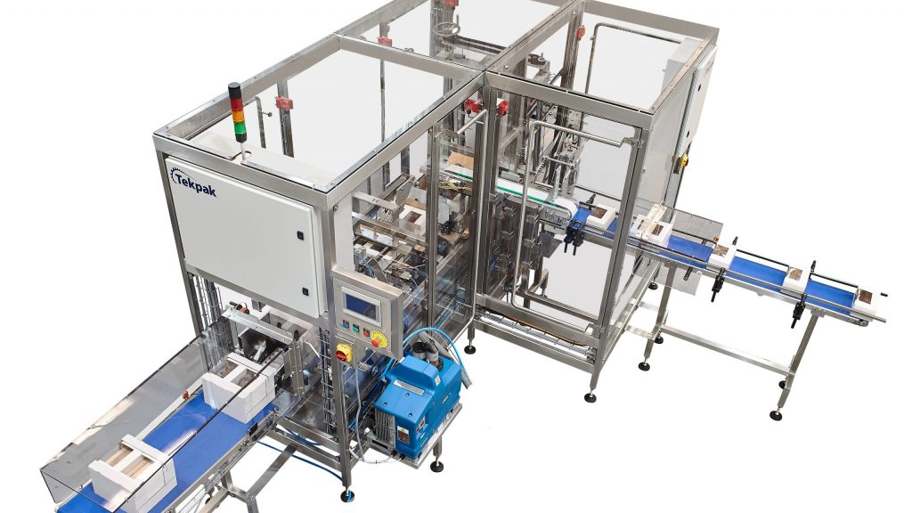 Case Packing System for the Food Industry