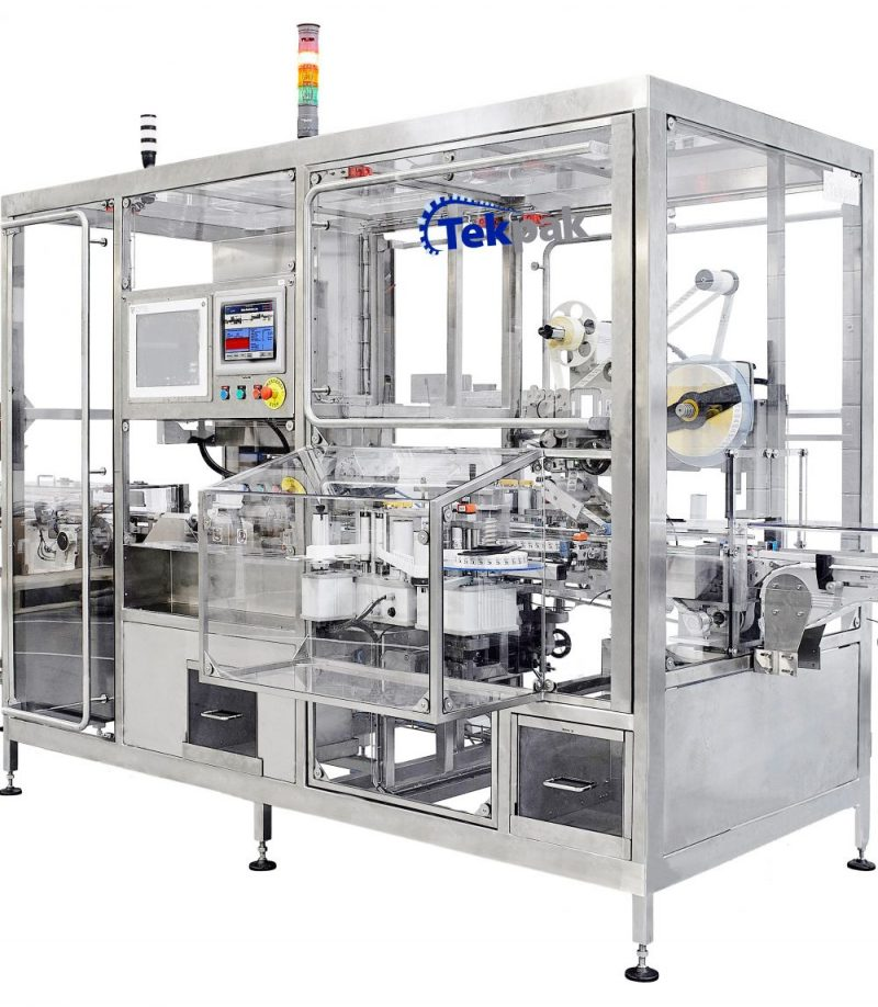 Integration of Serialisation Systems into End of Line Packaging