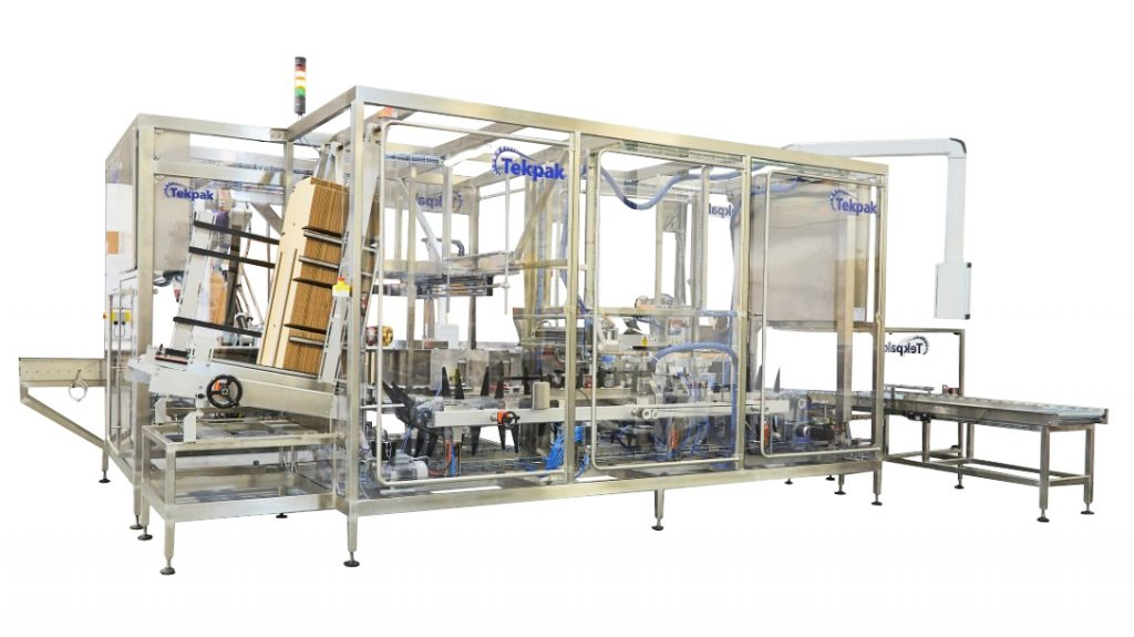 Wrap Around Tray Packer for Pharma or Food Industry