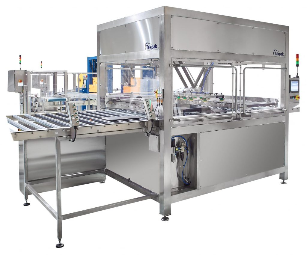 Robotic Pick and Place Loading for Industrial Products