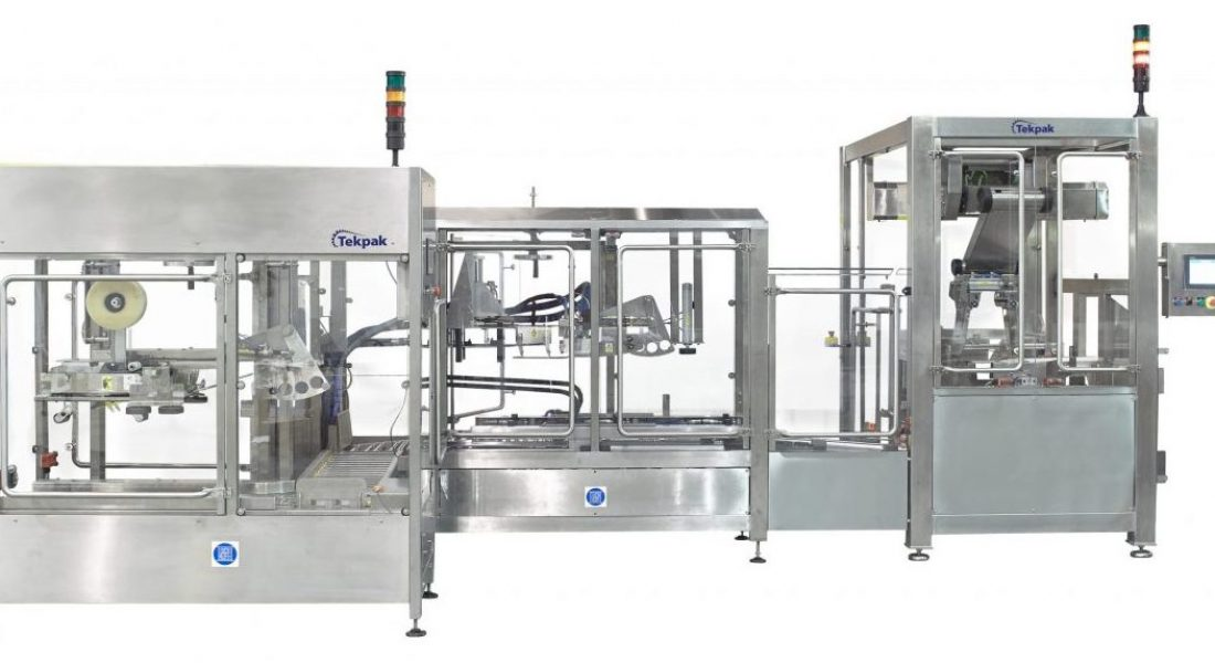 Top Load Case Packing System with Case Erector and Case Closing_2