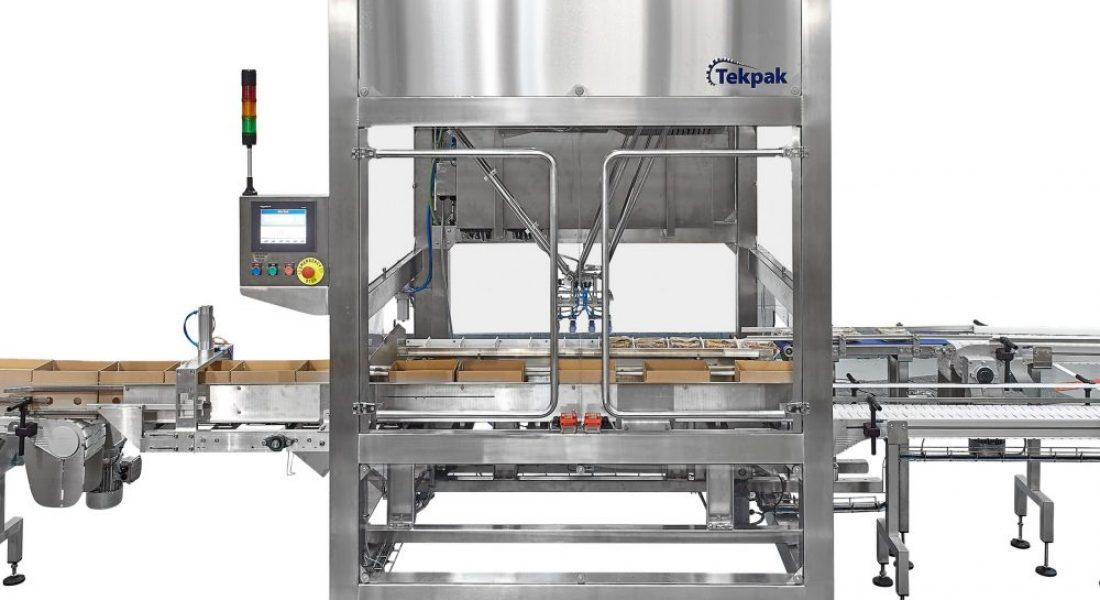 Case Packing System Top Loading