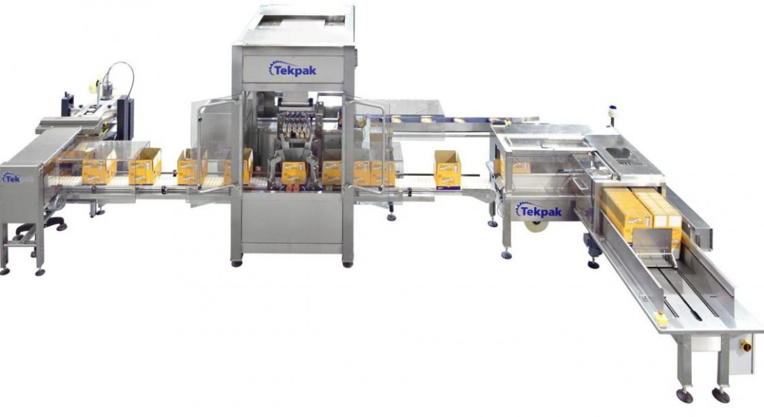 Top Load Case Packing System with Case Erector and Case Closing_3